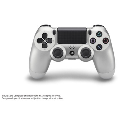 SCE Sony Computer Entertainment Inc. Wireless Controller DUALSHOCK ( Dual Shock ) 4 CUH-ZCT1J [ Silver for PS4]