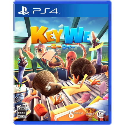 Game Source Entertainment KeyWe for Playstation PS4