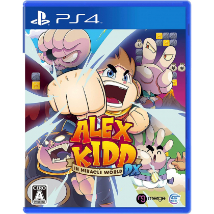 Game Source Entertainment Alex Kidd in Miracle World DX for Playstation PS4