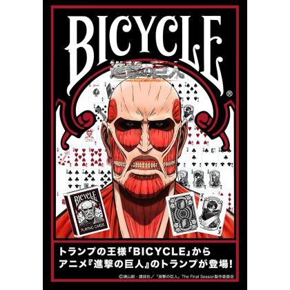 Shingeki no Kyojin (Attack on Titan) Playing Cards