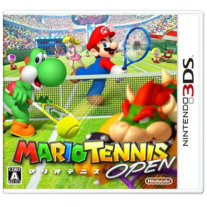 Nintendo Mario Tennis Open [3DS software ]