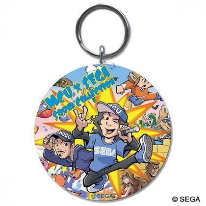 MCU×SEGA CDジャケットキーホルダー...