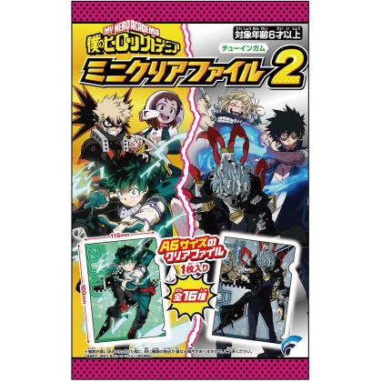 FORTE - My Hero Academia Mini Clear File 2 Collection