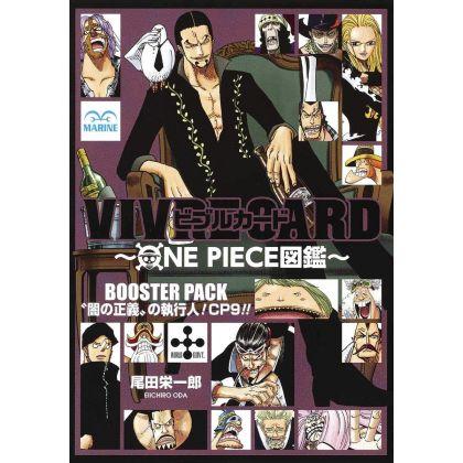 ONE PIECE - VIVRE CARD Booster Pack CP9 - Yami no Seigi no Shikkounin