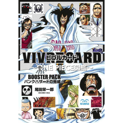ONE PIECE - VIVRE CARD Booster Pack - Punk Hazard no Kyoui !