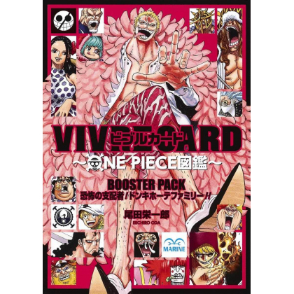 ONE PIECE - VIVRE CARD Booster Pack - Kyoufu no Shihaisha! Don Quijote Family