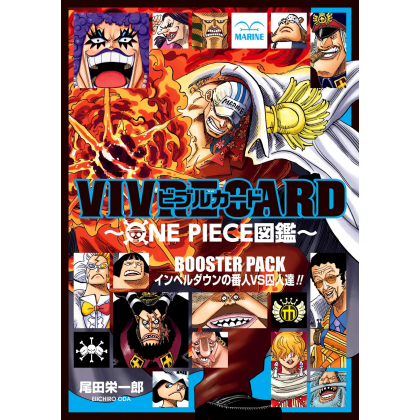ONE PIECE - VIVRE CARD Booster Pack Impel Down - Bannin vs Shuujin!