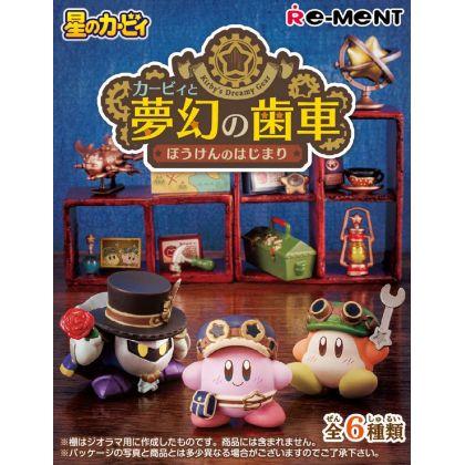 RE-MENT Hoshi no Kirby - Kirby to Mugen no Haguruma - Bouken no Hajimari Box (6pcs)
