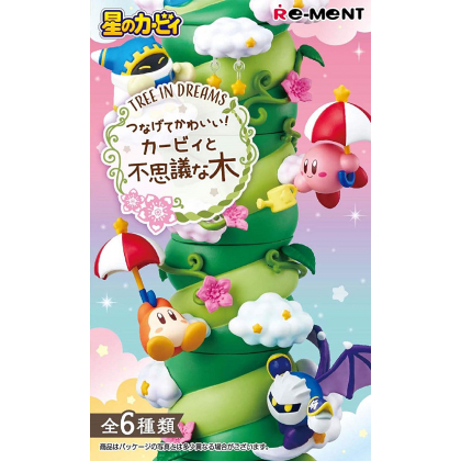 RE-MENT Hoshi no Kirby - Kirby to Fushigina Ki - Tree in Dreams Box (6pcs)
