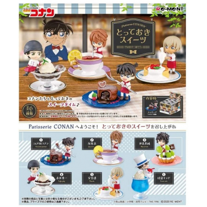 RE-MENT Detective Conan - Patisserie Conan Totteoki Sweets Box