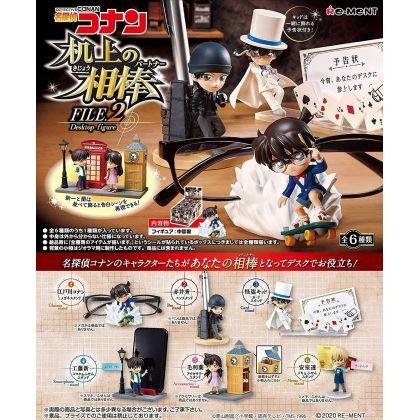 RE-MENT Detective Conan - Desktop Figure Kijou no Aibou File.2 Box