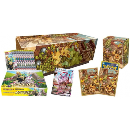 POKEMON CARD Sword & Shield Reinforcement Expansion Pack - Eevee Heroes (Evoli) SET