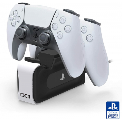 HORI - DualSense Charging Station for Wireless Controller for Sony Playstation 5 PS5