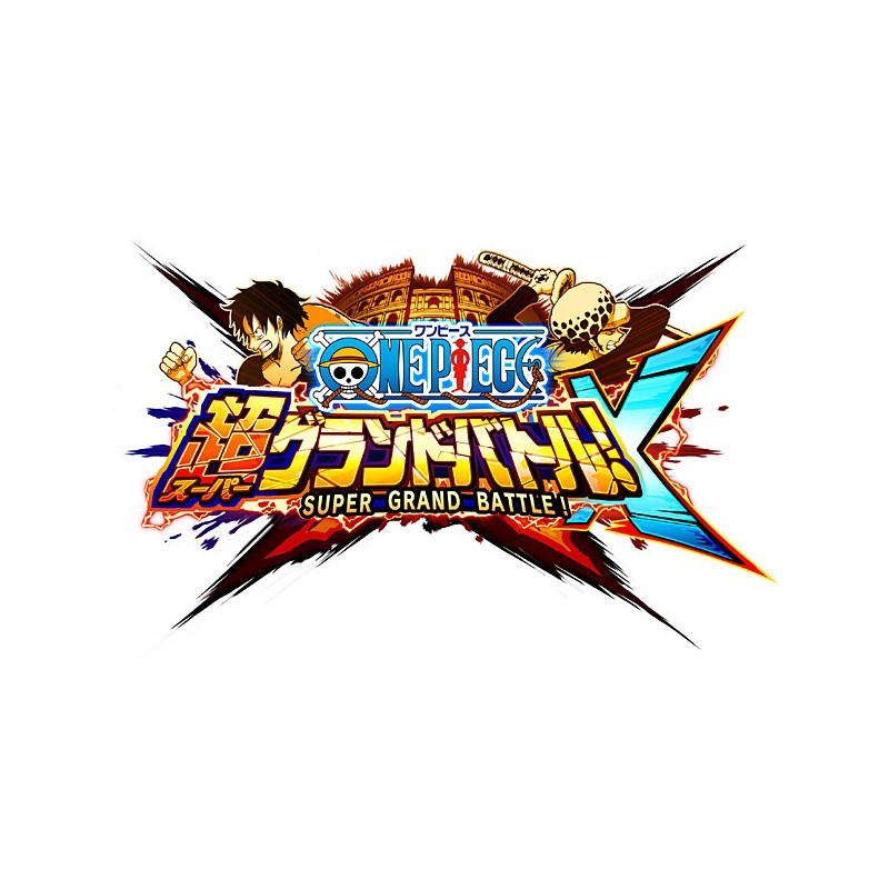 One Piece Super Grand Battle X: BANDAI NAMCO One Piece Super Grand Battle X [3DS Software