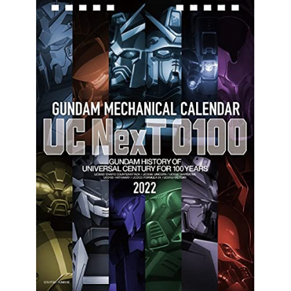 Mobile Suit Gundam - Gundam Mechanical Calendar 2022 UC NexT 0100
