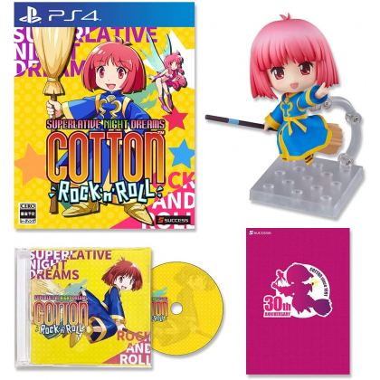SUCCESS - Cotton Rock N Roll 30th Anniversary Special Limited Edition for Sony Playstation PS4