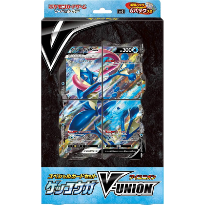 POKEMON CARD Sword & Shield Special Card Set - Gekkouga (Amphinobi) V-Union
