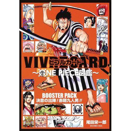 ONE PIECE - VIVRE CARD Booster Pack - Ketsui no Shutsujin! Akazaya Kyuunin Otoko