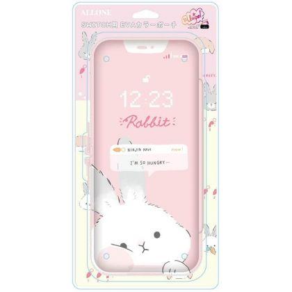 ALLONE - Eva Color Pouch - Unipo Q-LiA Rabbit for Nintendo Switch