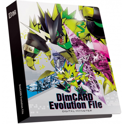BANDAI Digimon Adventure -  Dim CARD Evolution File