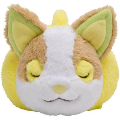 Pokémon Center Original Plush Minna Otsukaresama Lying down Wanpachi (Yamper)