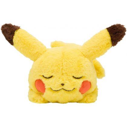 Pokémon Center Original Plush Minna Otsukaresama Lying down Pikachu