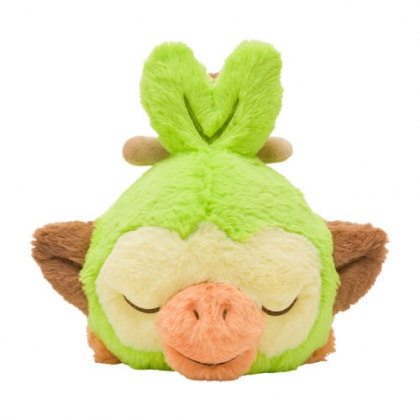 Pokémon Center Original Plush Minna Otsukaresama Lying Down Sarunori (Grookey)