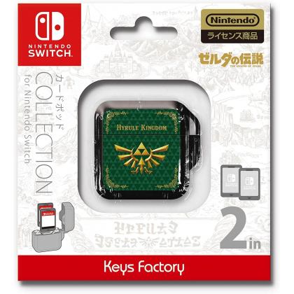 KEYS FACTORY - Card Pod Collection The Legend of Zelda (Zelda no Densetsu) Type-A for Nintendo Switch