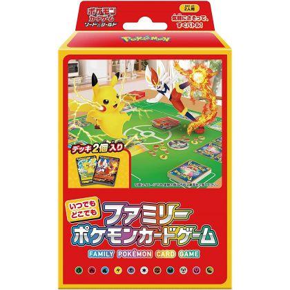POKEMON - Pokemon Sword & Shield - Itsudemo Dokodemo Family Pokemon Card Game