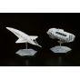 BELLFINE - 2001: A Space Odyssey - Orion III & Moon Rocket Bus