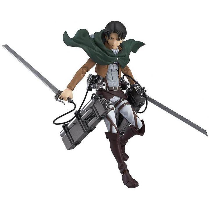 MAX FACTORY - figma Shingeki no Kyojin (Attack on Titan) Levi Ackerman Figure