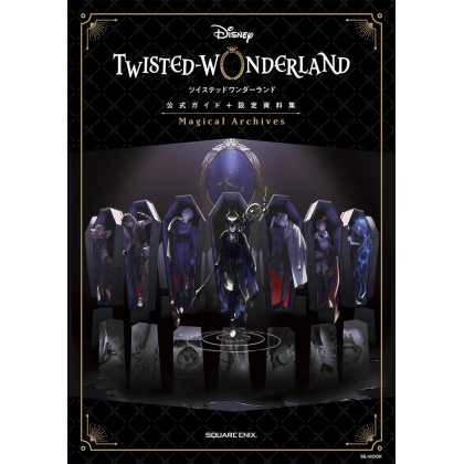 Mook - Disney Twisted Wonderland Official Guidebook & Magical Archives