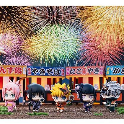 MEGAHOUSE - Chimi Mega 10th Anniversary Project Petit Chara Land - NARUTO Shippuden - 10th Anniversary Festival Dattebayo