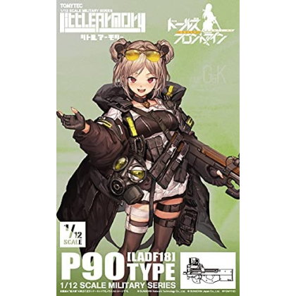 TOMYTEC Little Armory LADF18 Dolls Front Line P90 Type