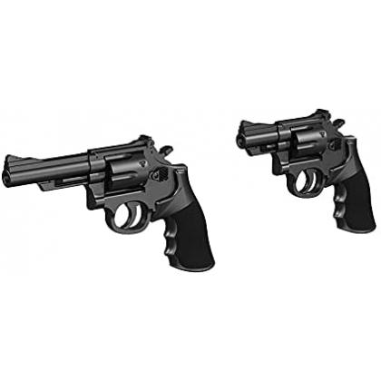 TOMYTEC Little Armory OP07 Tactical Glove 2 Revolver Set for figma Green