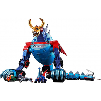 BANDAI Soul of Chogokin GX-100 Gaiking & Daikuu Maryuu (Great Space Dragon) Figure