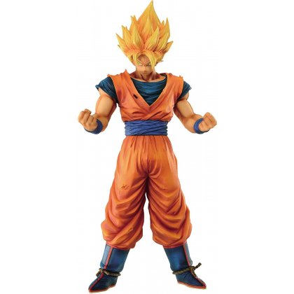 BANDAI Banpresto - Dragon Ball Z - Grandista Resolution of Soldiers - Super Saiyan Son Goku Figure