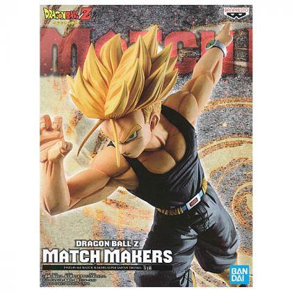 BANDAI Banpresto - Dragon Ball Z Match Makers - Super Saiyan Trunks Figure