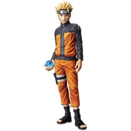 BANDAI Banpresto - Naruto Shippuden - Grandista Shinobi Relations Uzumaki Naruto Figure