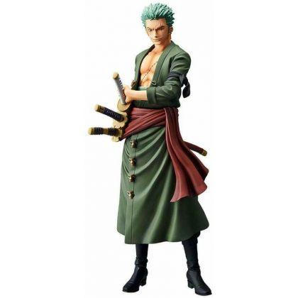 BANDAI Banpresto - One Piece Grandista THE GRANDLINE MEN - Roronoa Zoro Figure
