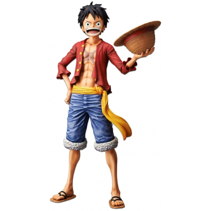 BANDAI Banpresto - One Piece Grandista Nero - Monkey D. Luffy Figure