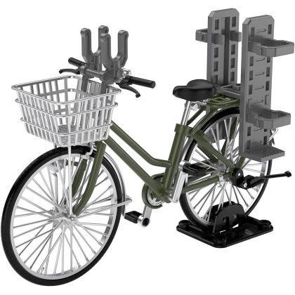 Tomytec Little Armory  LM007  School Bike  (Specified Defense School)  Olive drab   Plastic Model Kit