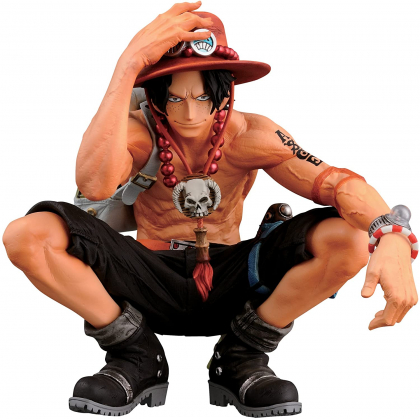 BANDAI Banpresto - One Piece - King of Artist Portgas D. Ace Figure