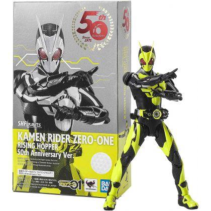 BANDAI S.H.Figuarts - Kamen Rider Series - Kamen Rider Zero-One Rising Hopper 50th Anniversary Ver. Figure