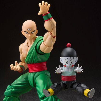 BANDAI S.H.Figuarts Dragon Ball Z - Tenshinhan & Chaozu Figure