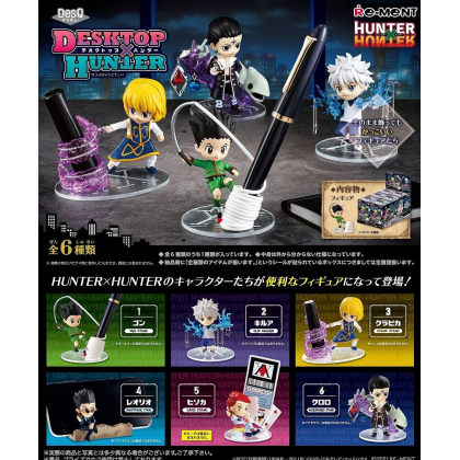 RE-MENT - HUNTER×HUNTER DesQ Desktop Figure Collection Box