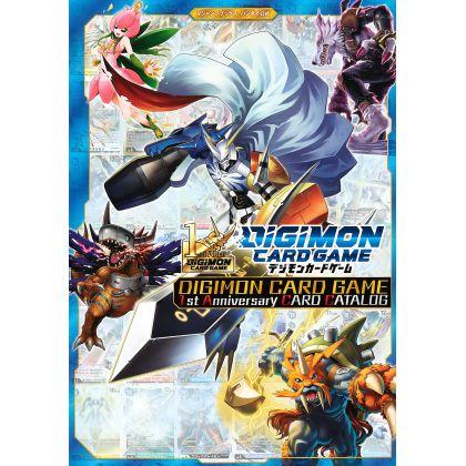 Artbook - Digimon Card Game 1st Anniversary CARD CATALOG (V Jump Comics)