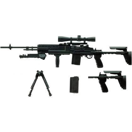 TOMYTEC Little Armory LA062 M14EBR-RI Type Plastic Model Kit