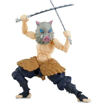 MAX FACTORY - Figma Kimetsu no Yaiba (Demon Slayer) - Hashibira Inosuke Figure