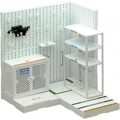 Tomytec Little Armory LD027 Weapons Room A Plastic Model Kit